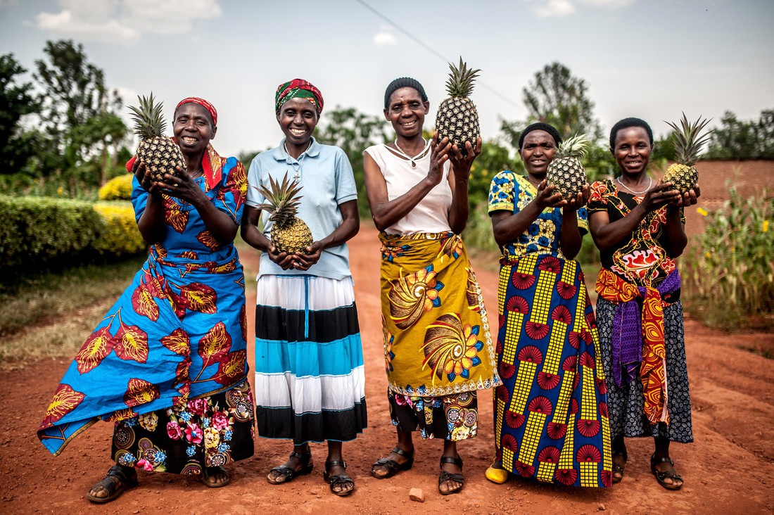 Tuzamurane Co-operative memebers, Rwanda