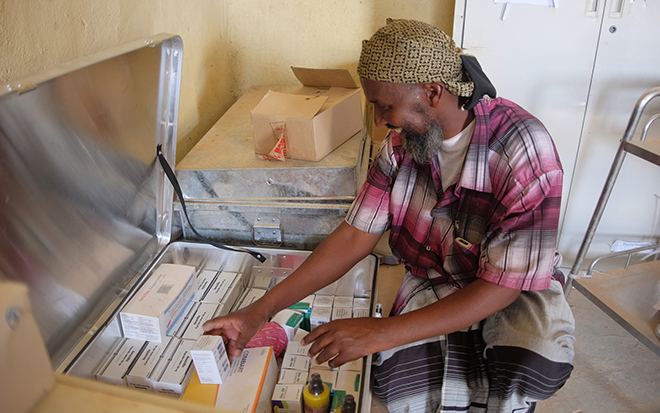 Providing life-saving medicine in Somaliland