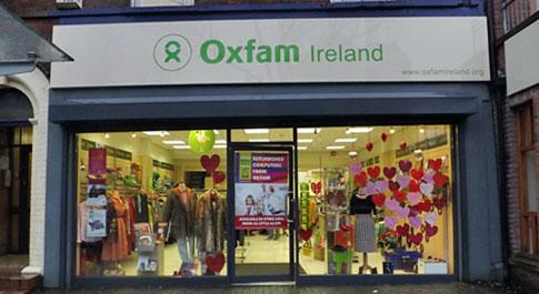 Oxfam Botanic Avenue shop front