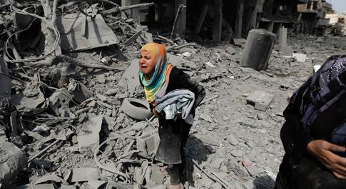 Gaza needs peace now