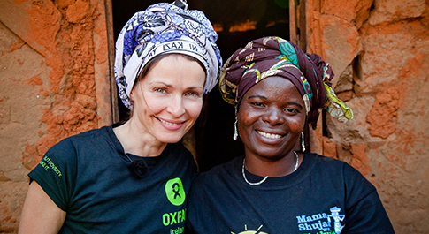 Sharon Corr - Ending poverty starts with women