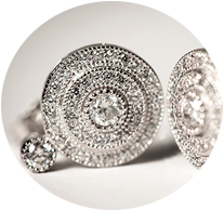 Tipperary Crystal Sparkling Round Earrings