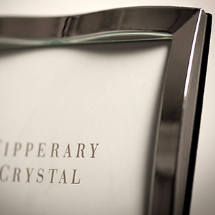 Tipperary Crystal Ripple Picture Frame