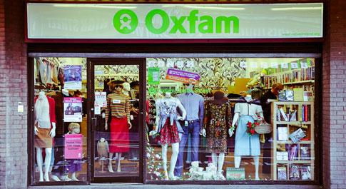 Oxfam Castle Street shop front