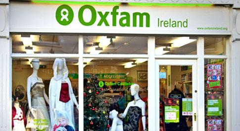 Oxfam Castlebar shop front