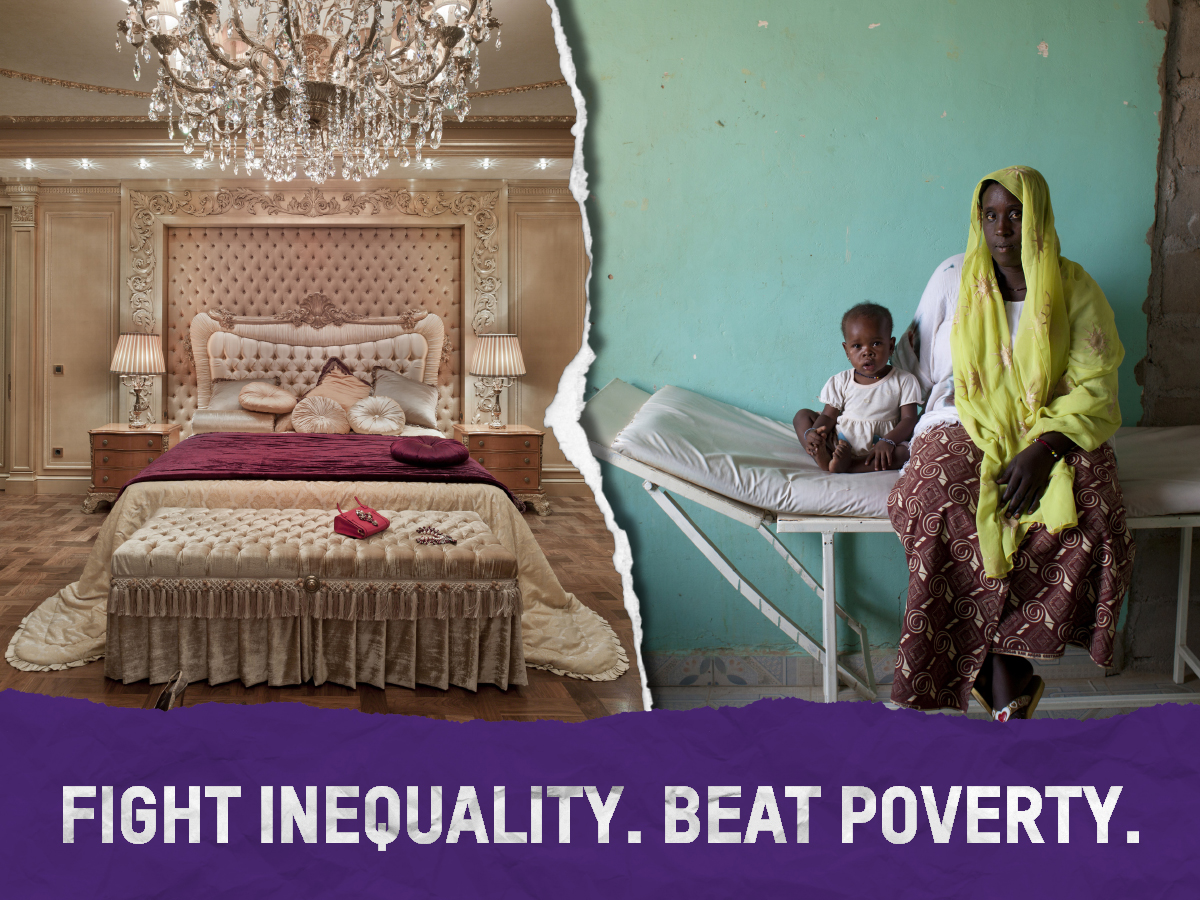 Fight Inequality Beat Poverty - Oxfam Report