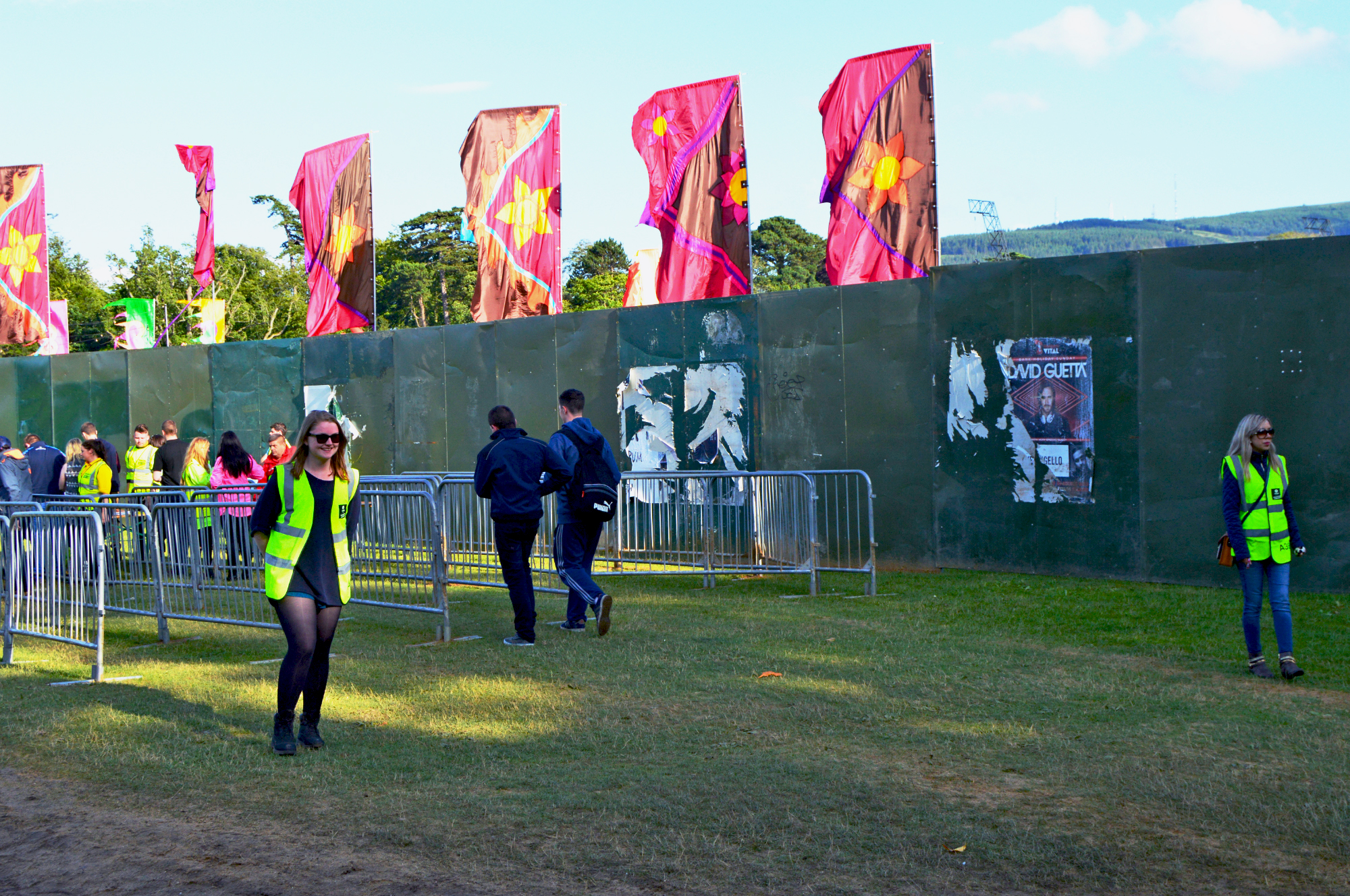 Volunteer at festivals with Oxfam