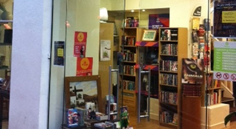 Oxfam Books Cork shop front