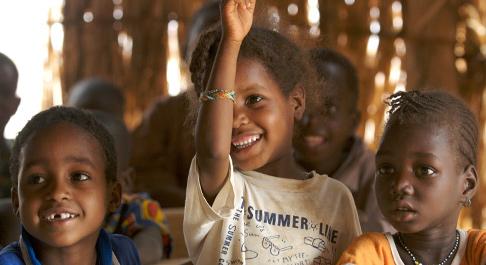 A new school in Burkina Faso