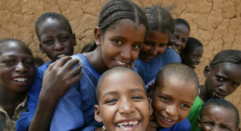 These kids' mums set up a business in Mali