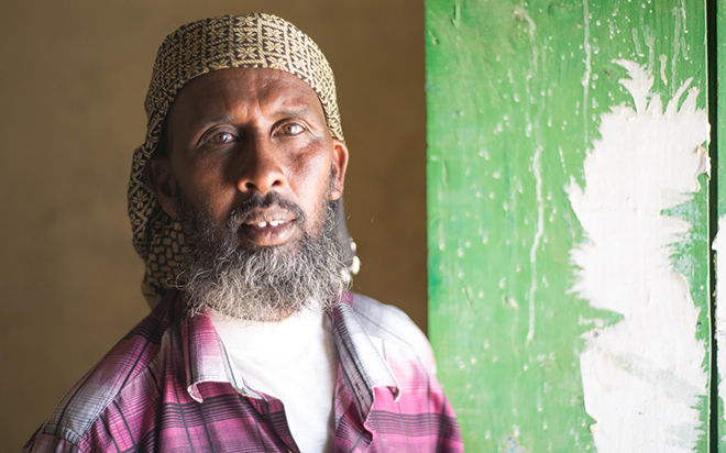 Jama Banner, a doctor in Somaliland