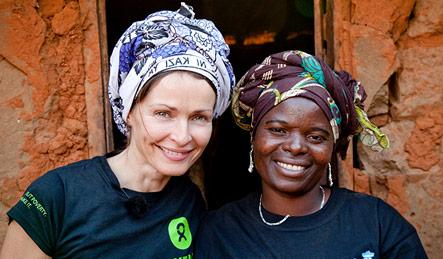 Sharon Corr meets Ester Jerome Mtegule