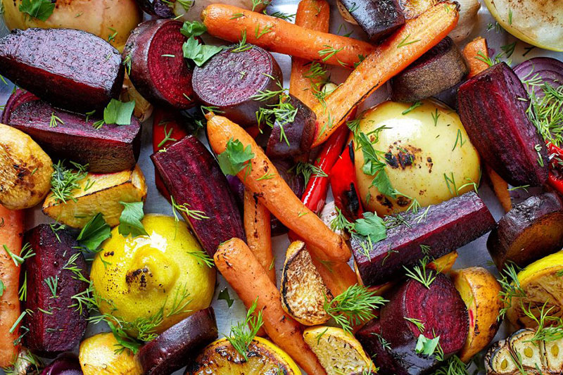 Delicious sustainable vegetables