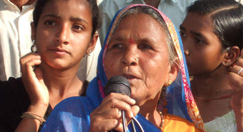 Girijar is a leader in her community