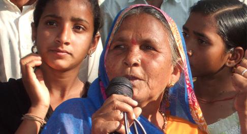 Girijar is a leader in her community