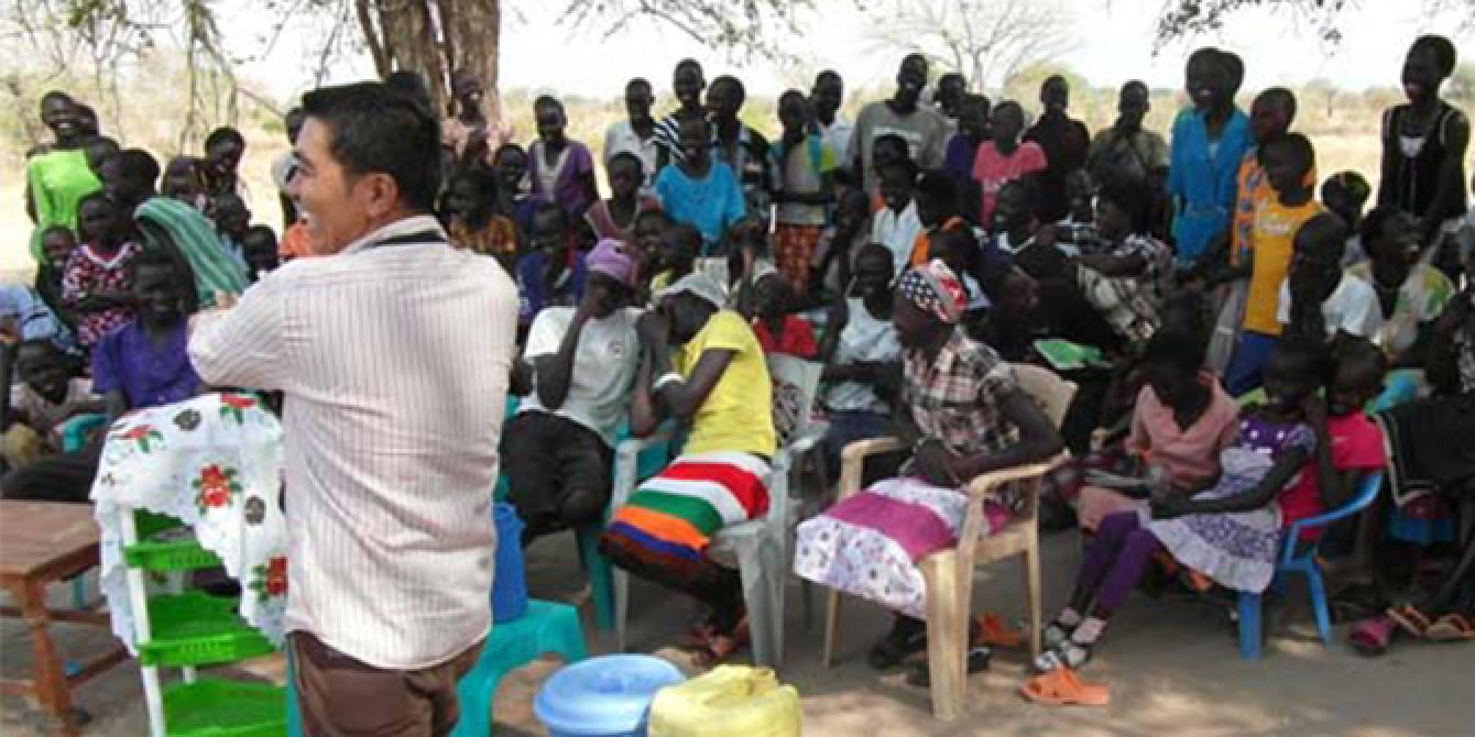 humanitarian worker public health