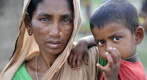 Sufia & her daughter Shilpi