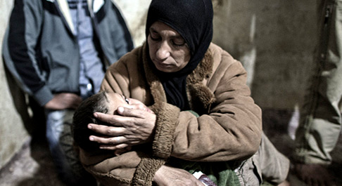 Syria Crisis: 1.1 million people have fled