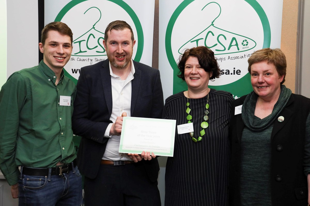 charity shop team of the year award