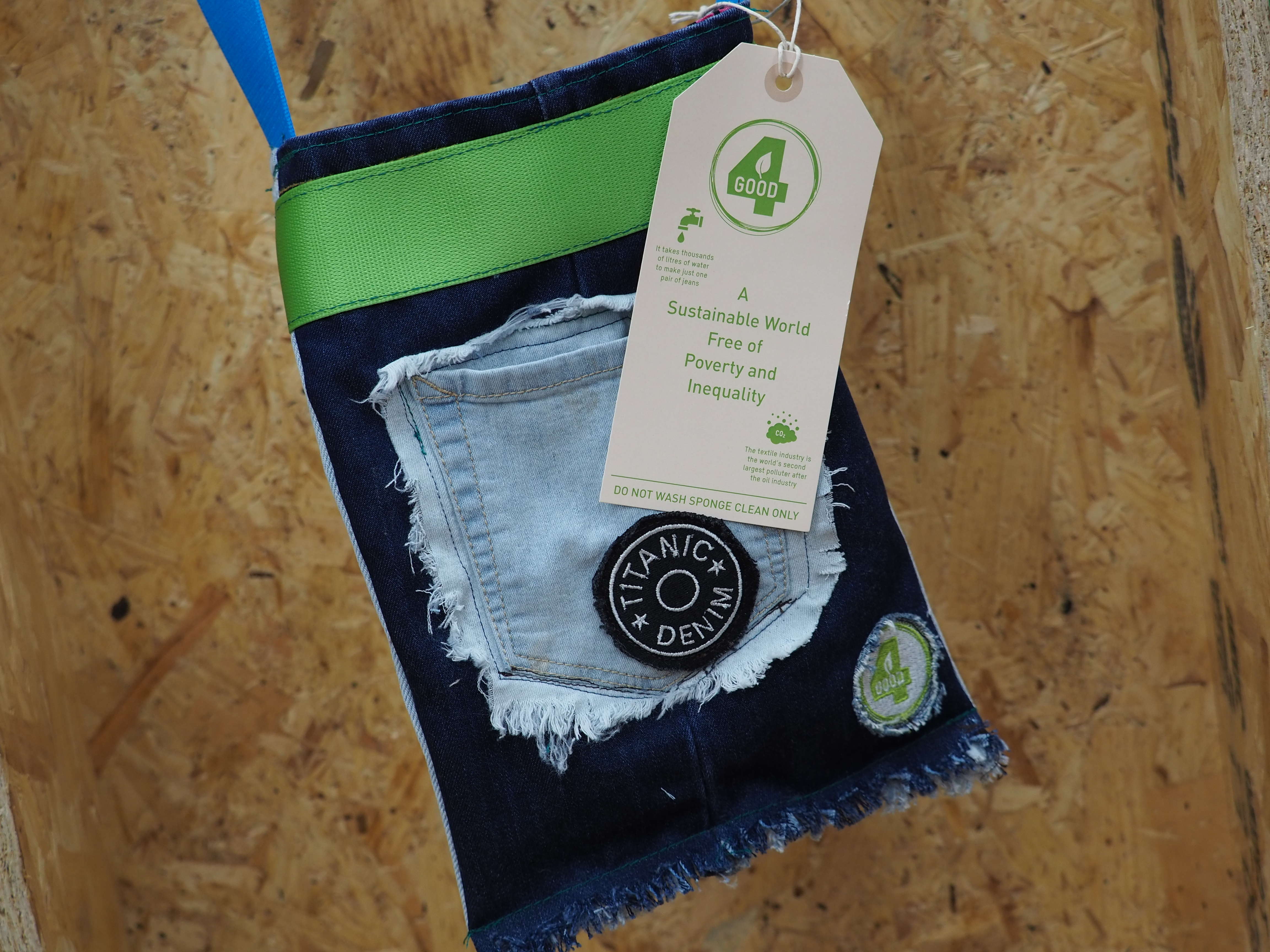 ethical upcycled bag