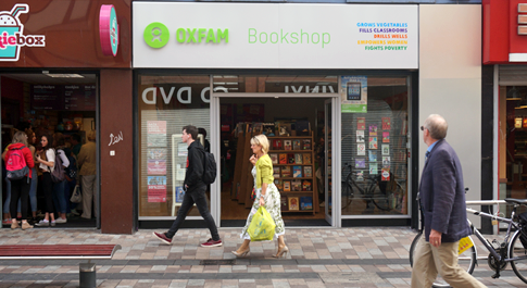Oxfam Books Ann St. shop front