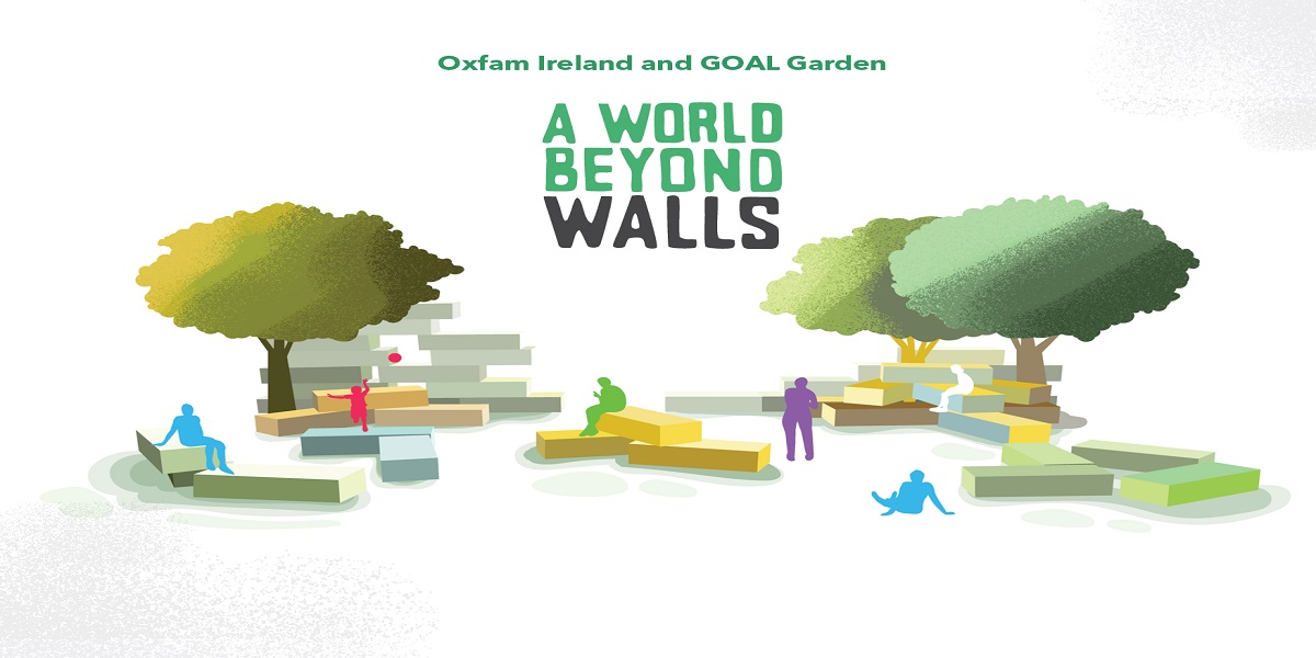 Oxfam GOAL garden at Bloom 2017