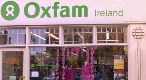 Oxfam Phibsboro shop front
