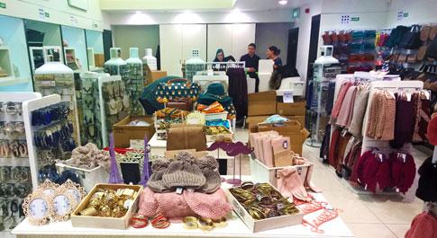 Oxfam shop Castlecourt Belfast