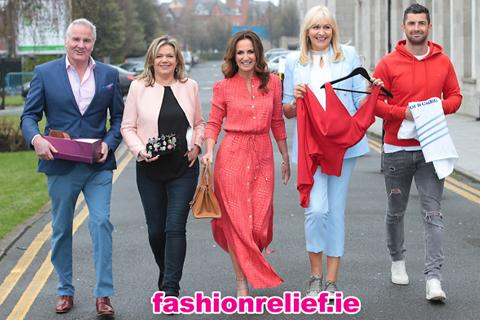 Lorraine Keane brings together a host of Irish fashion, rugby and entertainment greats to launch fashion fundraiser of the year