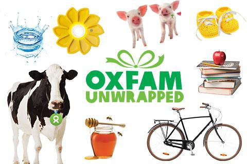 Oxfam Unwrapped Happy Christmas