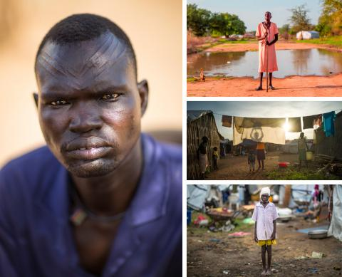 South Sudan Image Collage