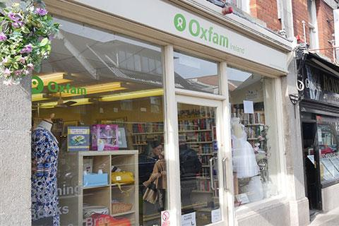 Oxfam shops in your local community