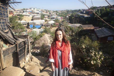 lorraine keane in cox's bazar refugee camp