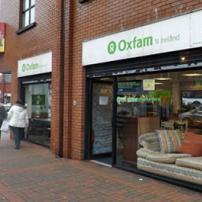 Oxfam Ballyhackmore shop front
