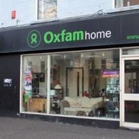 Oxfam Home Dublin Road shop front