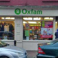 Oxfam Navan shop front