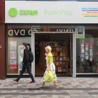 Oxfam Books Ann St. shop front