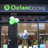 Oxfam Books Parliament Street shop front