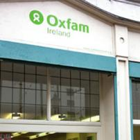 Oxfam Waterford shop front