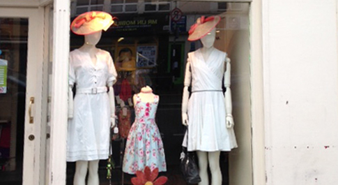 Oxfam Tullamore shop front