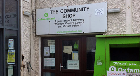 Oxfam Wicklow at The Murrough Recycling Centre